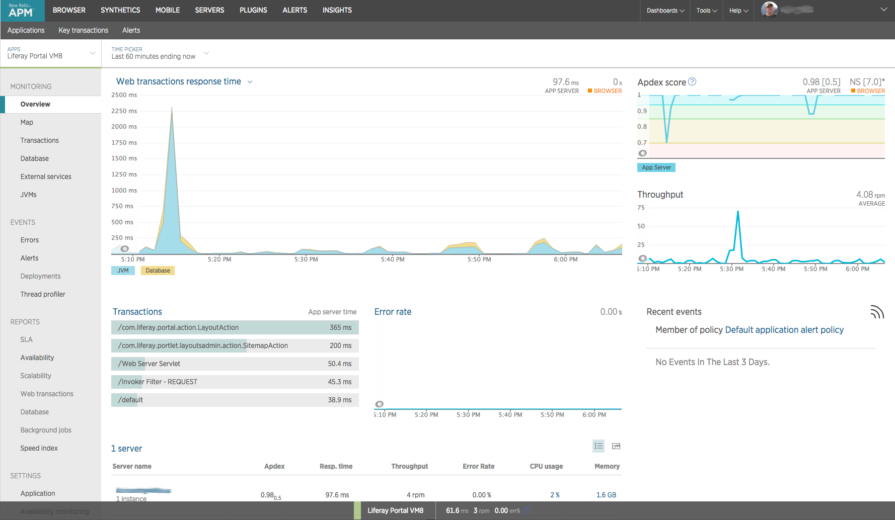 Monitoring with New Relic - JGuru